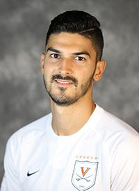 Enrique Banuelos - Men's Soccer - Virginia Cavaliers