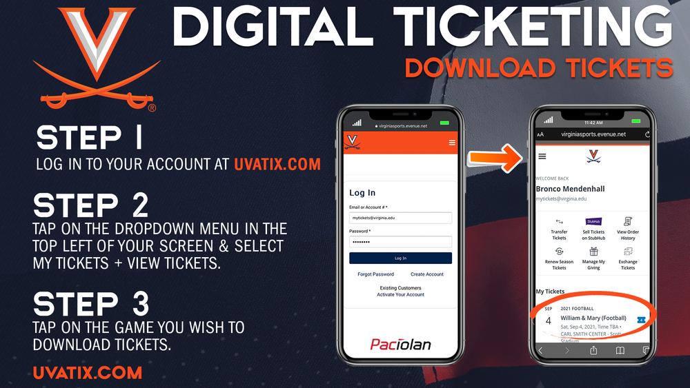 Digital Ticketing Download - 1