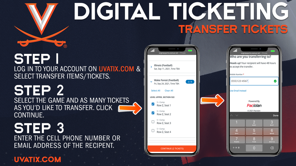Digital Ticketing Transfer - 1
