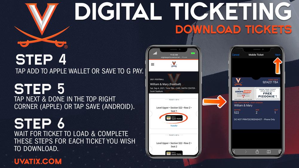 Digital Ticketing Download - 2